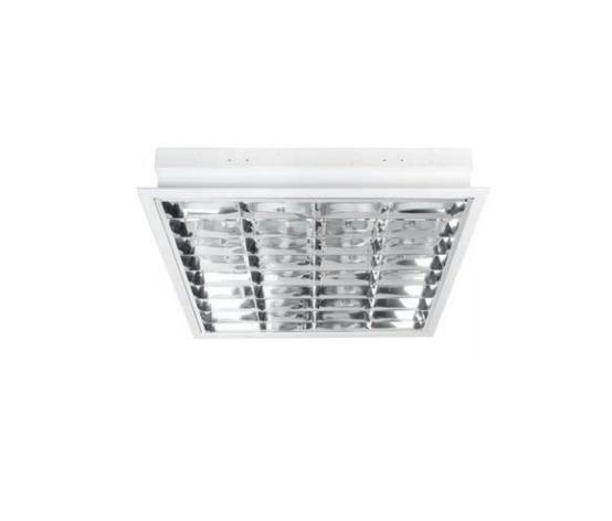 Deko-Light Rasterleuchte Einlegerasterleuchte, Weiß, Metall, 100013