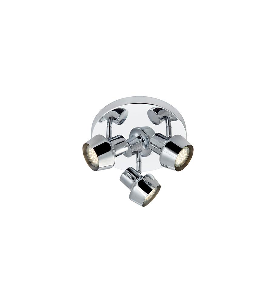 Markslöjd Deckenrondell URN Ceiling 3L Chrome, Chrom, Metall, 106085 | Lampen > Deckenleuchten > Deckenlampen | Chrome - Chrom | Metall