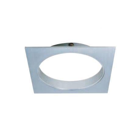 Deko-Light Zubehör Deckeneinbauleuchte, Silber, Aluminium, 110106