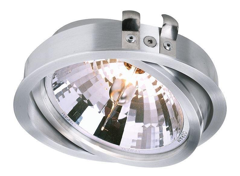 Deko-Light Einbauleuchte Deckeneinbauleuchte, Silber, Aluminium, 110111