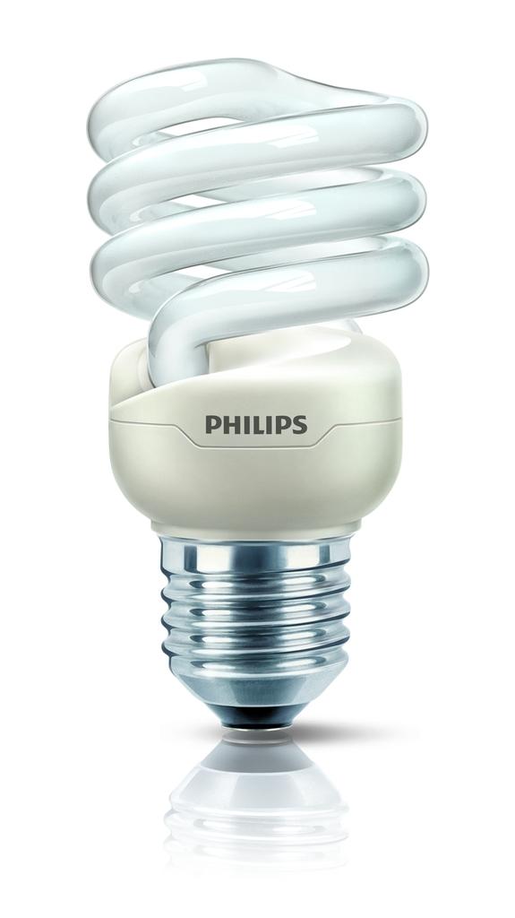 Philips Energiesparlampe Tornado, Weiß, 11704900