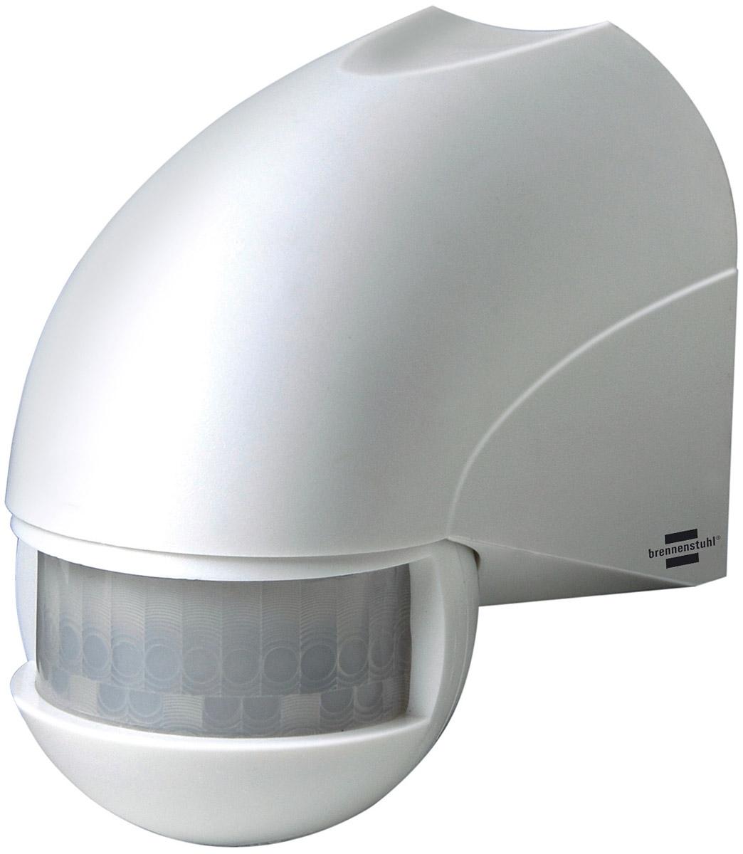 Brennenstuhl Bewegungsmelder Infrarot-Bewegungsmelder PIR 180 IP44 Weiß, 1170900