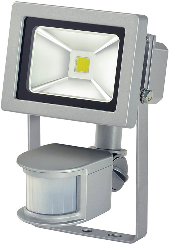 1171250102 Brennenstuhl Chip LED-Leuchte 10W IP44 mit Bewegungsmelder (Modern)