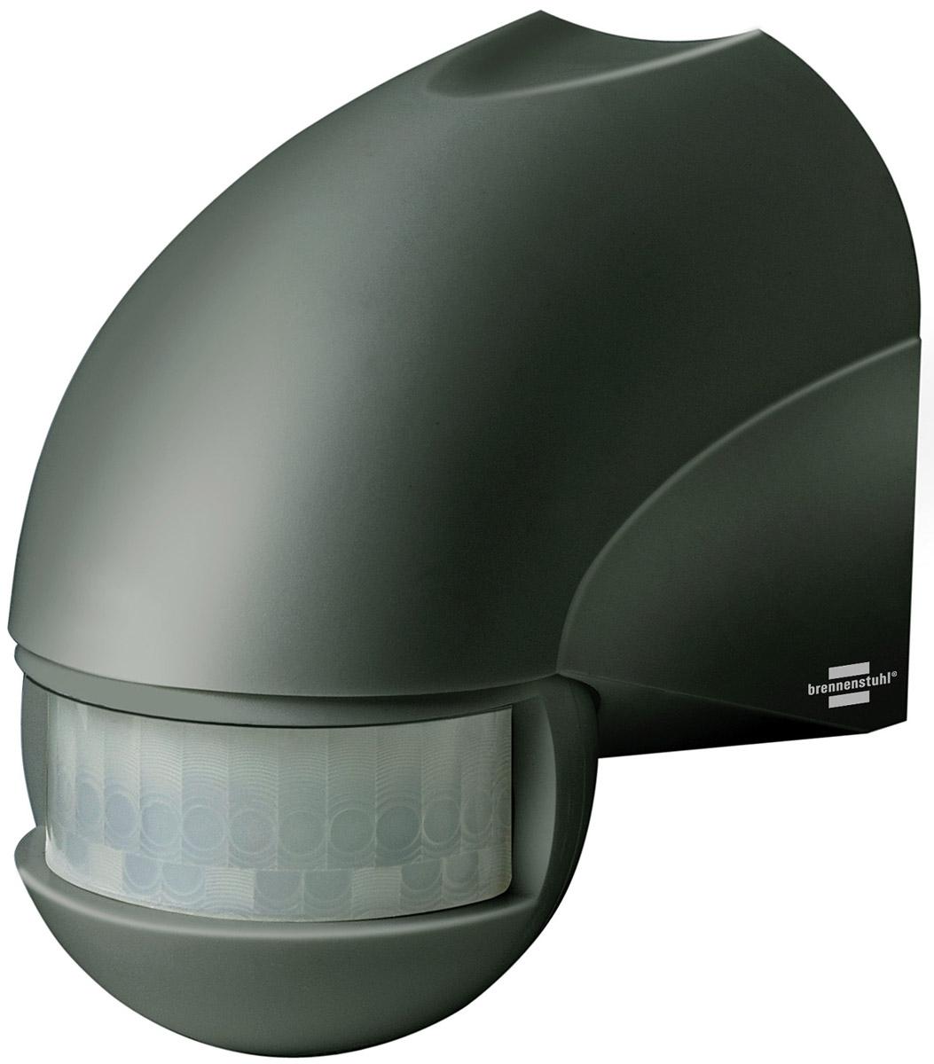 Brennenstuhl Bewegungsmelder Infrarot-Bewegungsmelder PIR 180 IP44 Anthrazit, 1171900