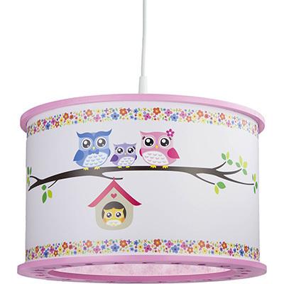 Elobra Kinder Pendelleuchte HL, Bunt/rosa/weiß, 131183   Lampen > Kinderzimmerlampen