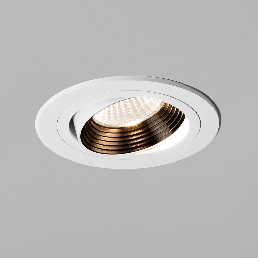 Astro LED Einbaustrahler Einbaustrahler Aprilia Round Fire Rated, Weiß, 1256013 | Lampen > Strahler und Systeme > Einbaustrahler