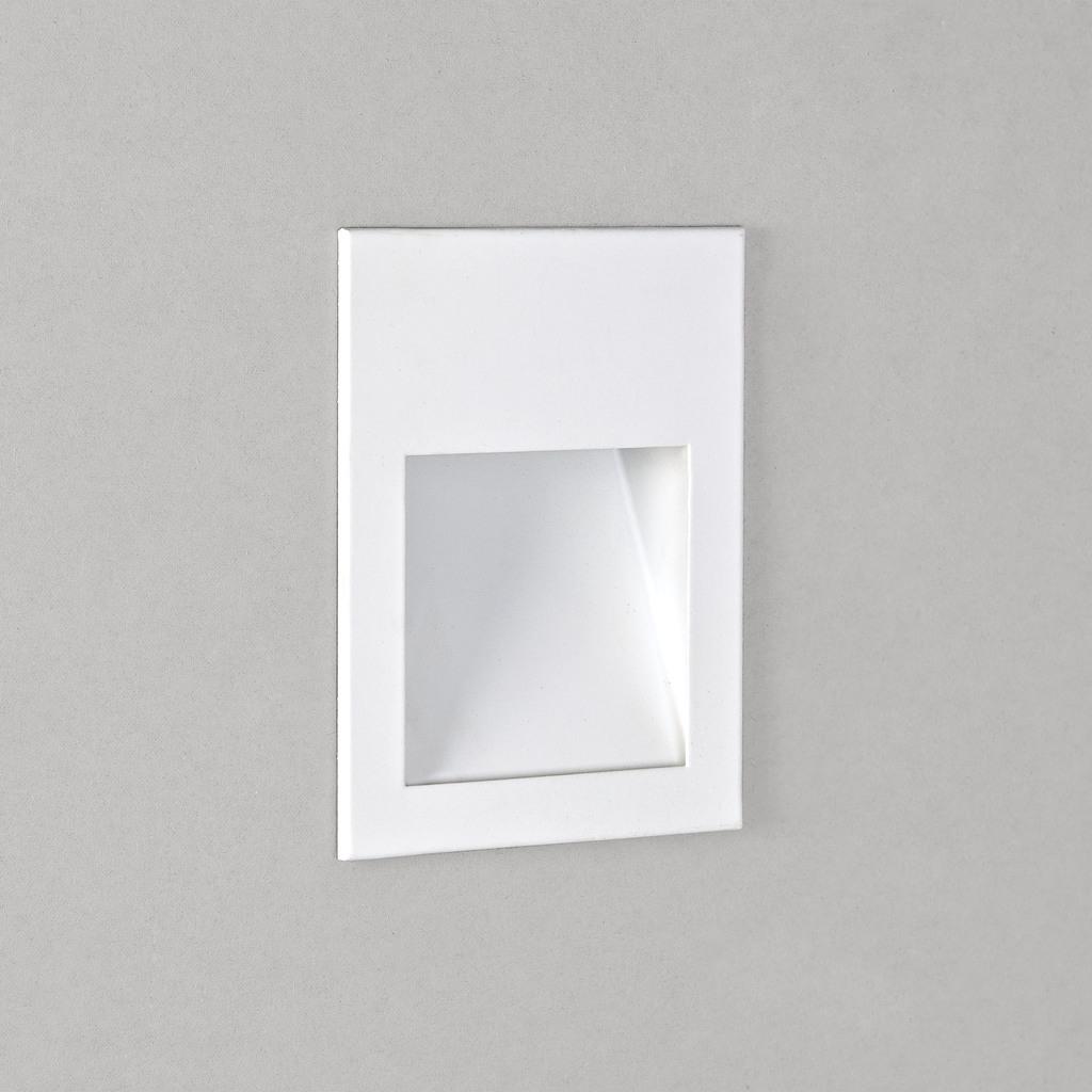 Astro LED Außenwandeinbauleuchte Borgo 54, Weiß, Edelstahl/Metall, 1212019 | Lampen > Strahler und Systeme > Möbelaufbaustrahler