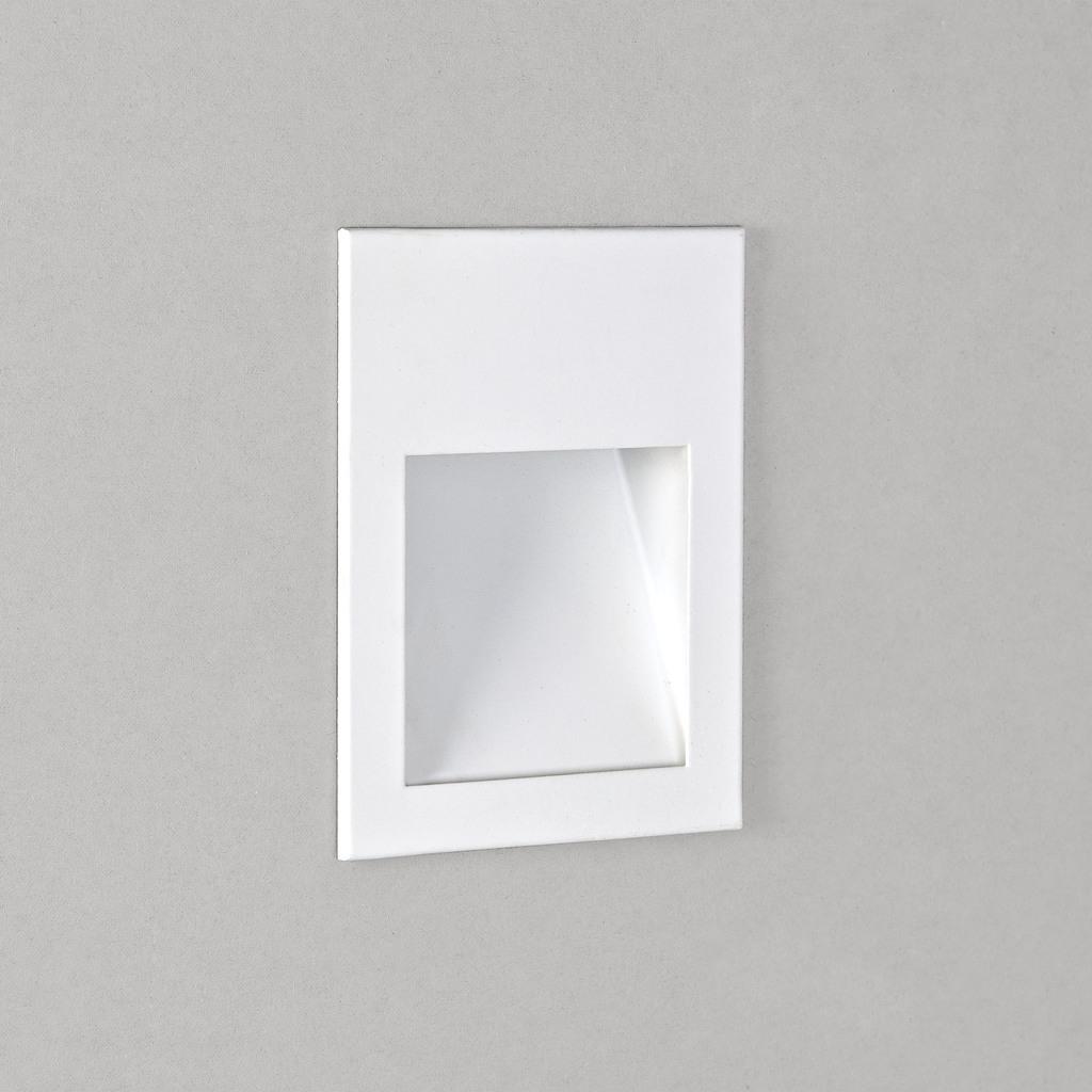 Astro LED Außenwandeinbauleuchte Borgo 54, Weiß, Edelstahl/Metall, 7545