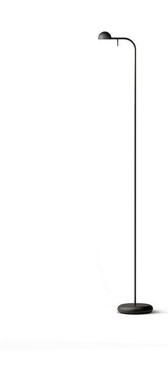 Vibia LED Leseleuchte PIN Stehleuchten Lack Creme Matt, Aluminium/Edelstahl/Kunststoff, 166058/10   Lampen > Tischleuchten > Leseleuchten   Creme - Matt   Lack