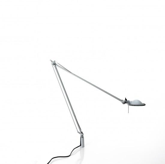 Luceplan LED Schreibtischleuchte Berenice LED, Metallisch/weiß, Aluminium, 1D120=NPL020 | Lampen > Bürolampen > Schreibtischlampen