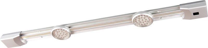 Müller Licht LED Unterschrankleuchte LED Unterbauleuchte Movespot Sensor 60 Titan, Metallisch, Aluminium, 20000082 | Lampen > Strahler und Systeme > Möbelaufbaustrahler | Metallisch | Aluminium