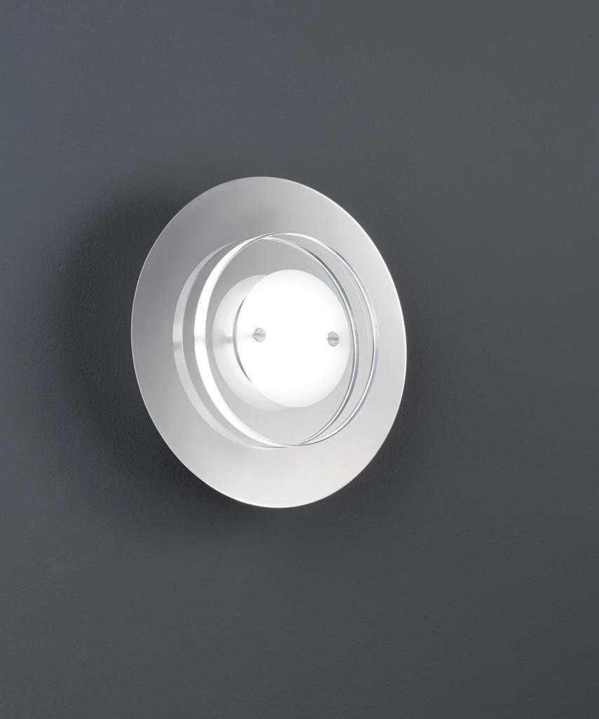 Trio LED Wandleuchte Serie 2277, Chrom,transparent, Glas/Metall, 227770106