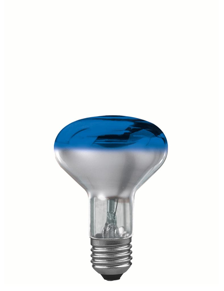 Paulmann R80 E27 60W 8cm, Blau, 250.64