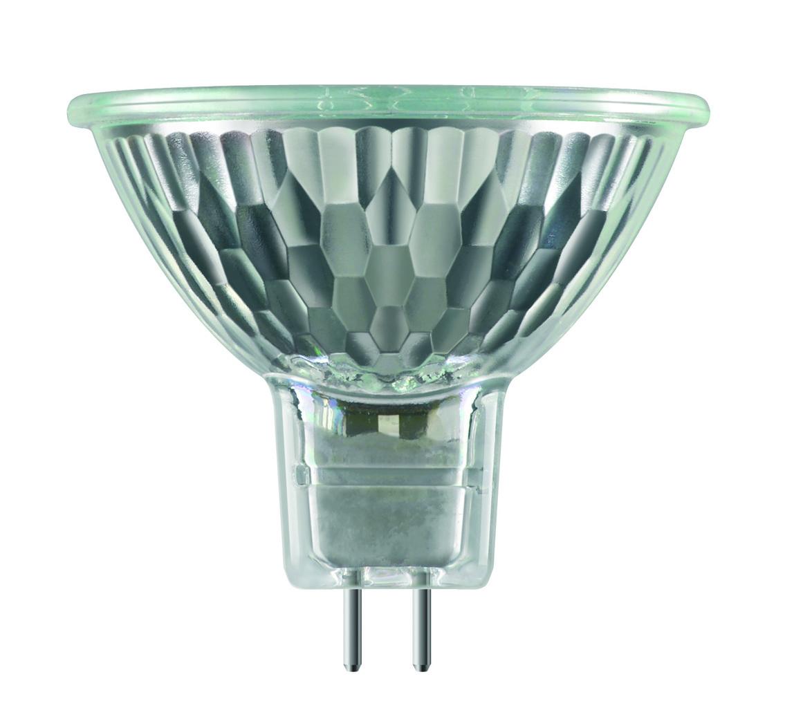 Philips Halogenlampe EcoHalo Kaltlichtreflektor MR16, Metallisch, 25089325