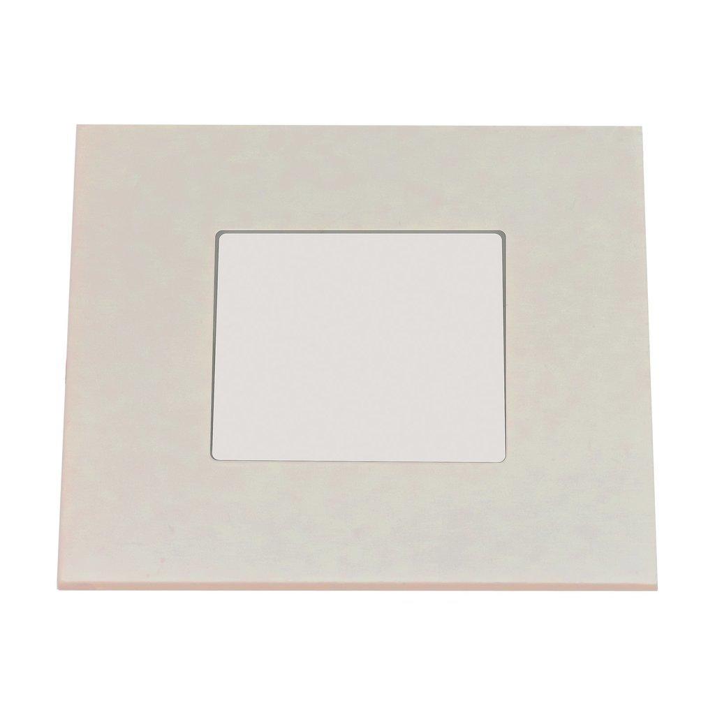 Heitronic LED Einbaustrahler LED PANEL 75x75 MM WARMWEIß WEISS, Weiß, Aluminium, 27632   Lampen > Strahler und Systeme > Einbaustrahler