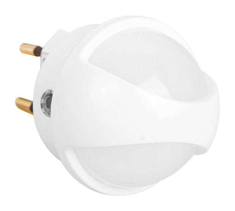 Müller Licht LED Steckdosenleuchte NIGHTLIGHT AMBER SENSOR, Weiß, Kunststoff, 27700018