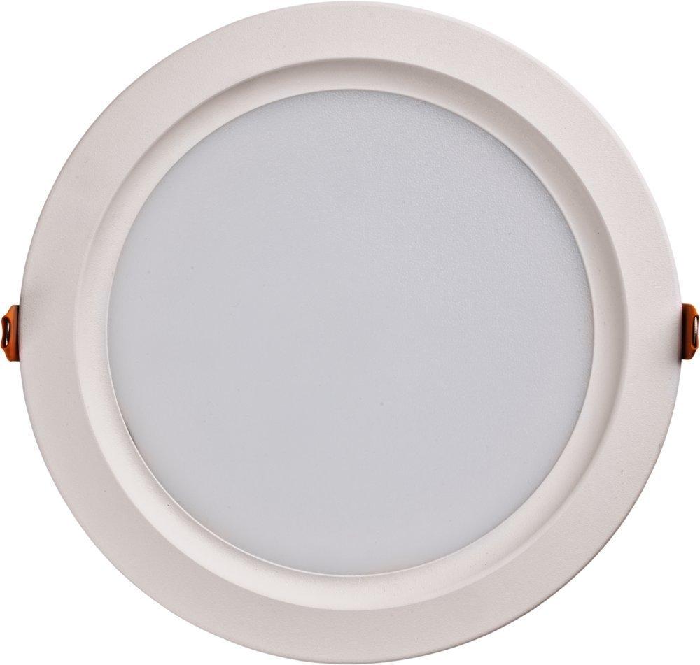 Heitronic LED Deckenleuchte LED Panel, Weiß, Aluminium/Kunststoff, 27752