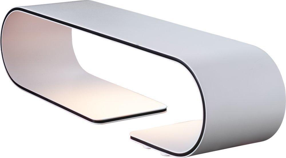 Heitronic LED Tischleuchte Style, Weiß, Aluminium/Kunststoff, 27757