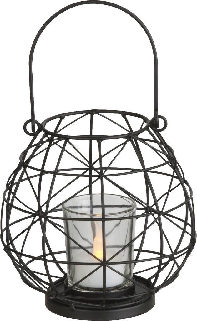 Globo LED Außen Dekoleuchte HL, Schwarz, 28194