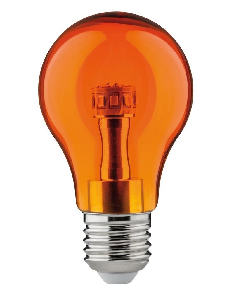 Paulmann LED AGL 1W E27 230V Orange, 284.51