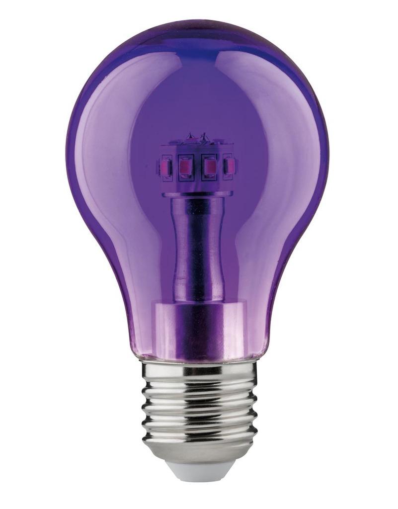 Paulmann LED AGL 1W E27 230V Violett, 284.52