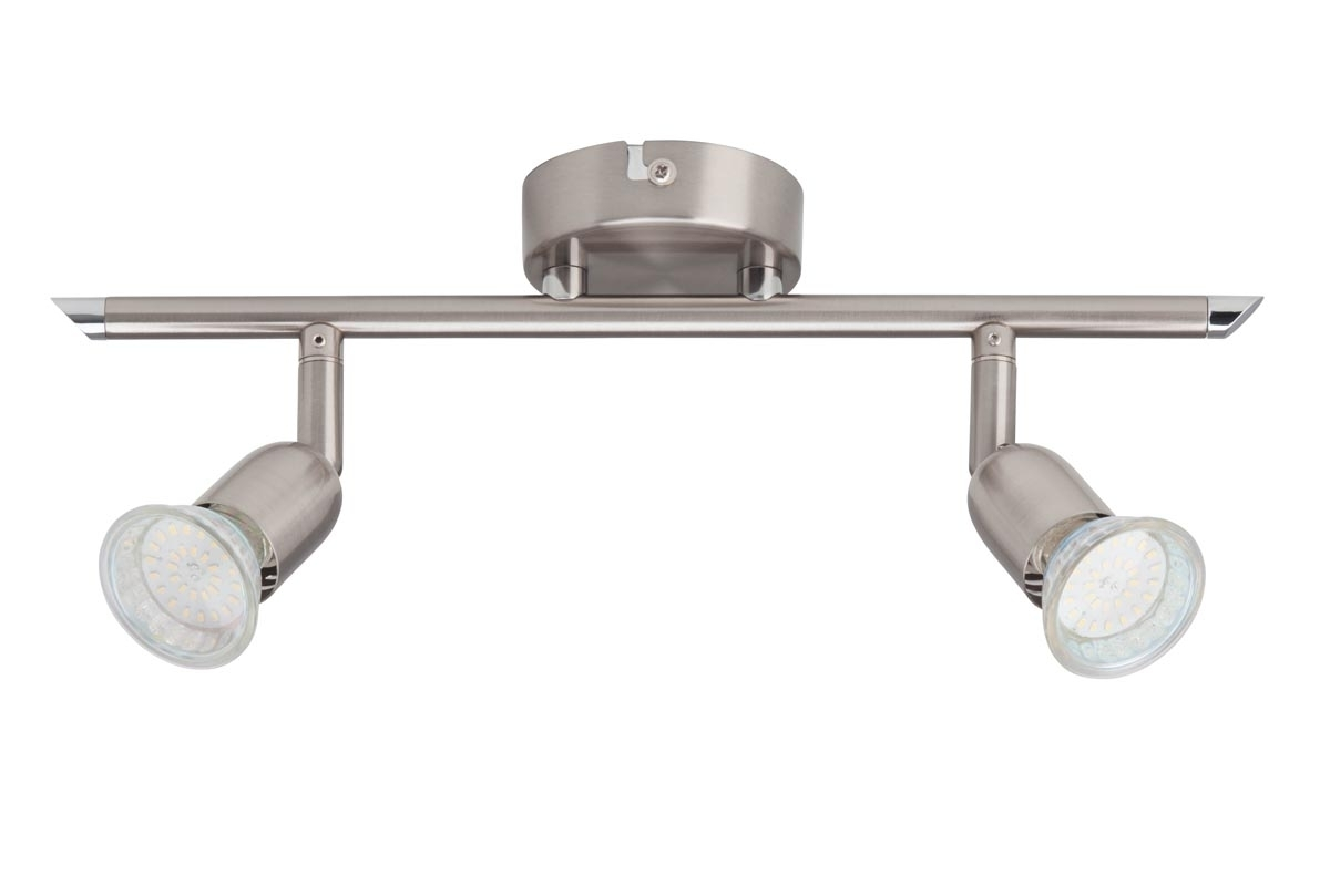Brilliant LED Strahlerbalken Loona 3W LED DE 2, Metall, G28813/13