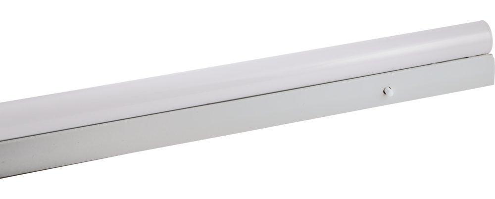 Heitronic Leuchtstoffleuchte Branolia S14s 60W, Weiß, Kunststoff/Metall, 28912