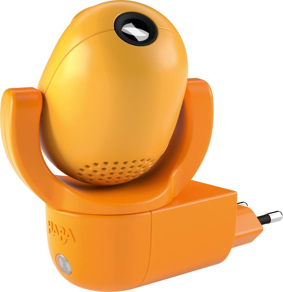 HABA LED Nachtlicht LED-Steckdosenlicht 6 Träumende Tierkinder Motiven Plus Musik, Orange, Kunststoff, 302918 | Lampen > Kinderzimmerlampen
