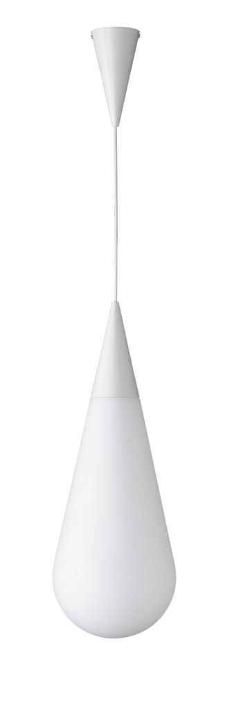 Trio Pendelleuchte Toulon, Weiß, Glas/Metall, 304790101
