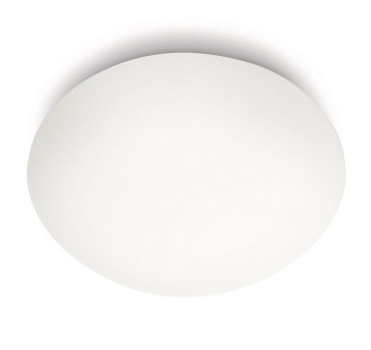 Philips Deckenleuchte Spa, Weiß, Glas, 320053116