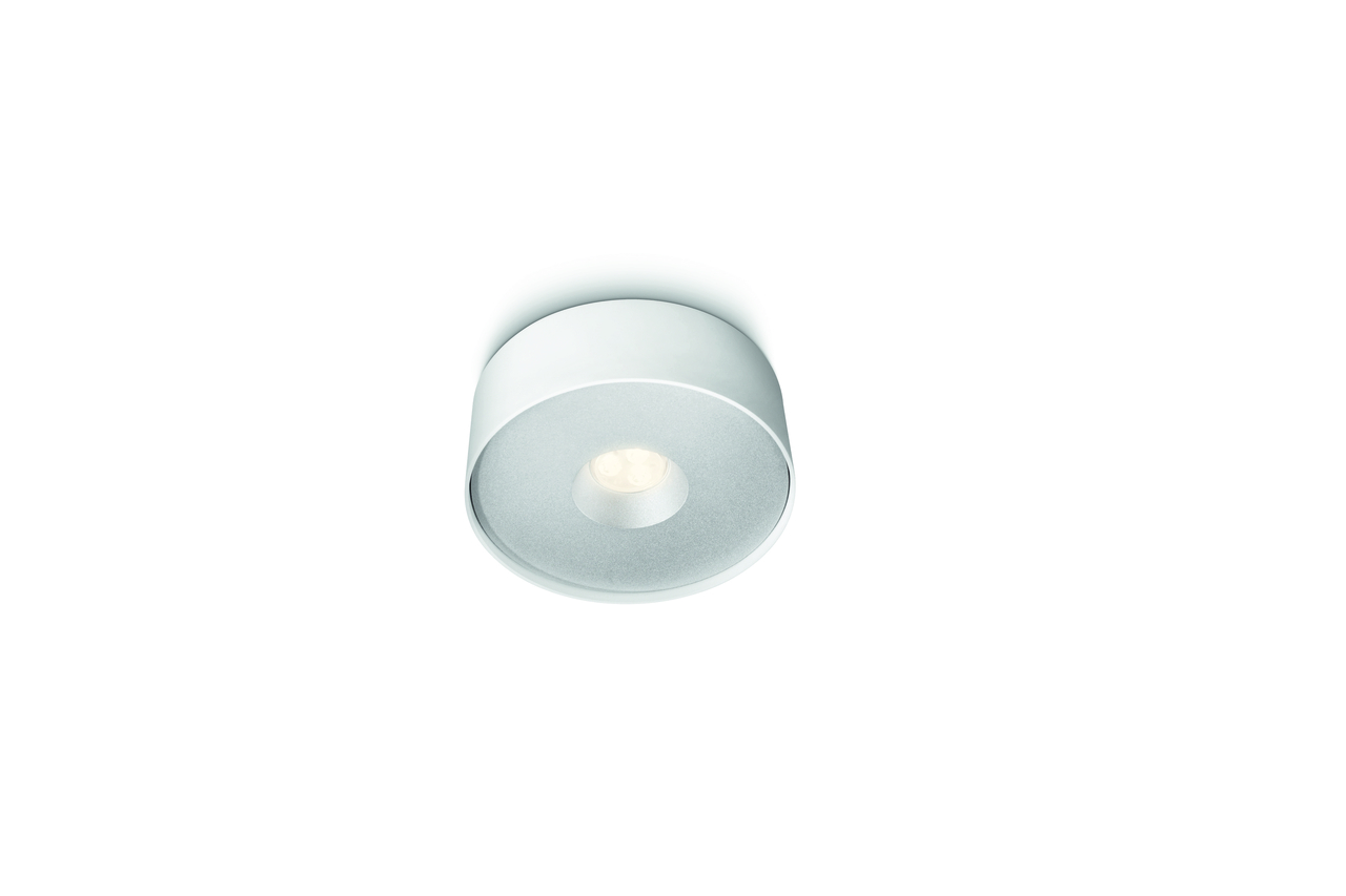 Philips LED Downlight Leah, Weiß, Metall, 321593116