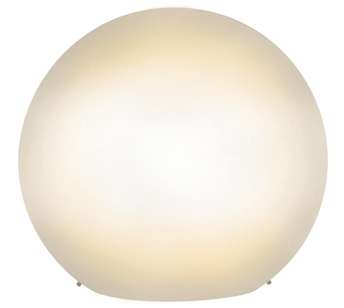 Näve Tisch Kugelleuchte Glas-Tischleuchte, Weiß, 333323