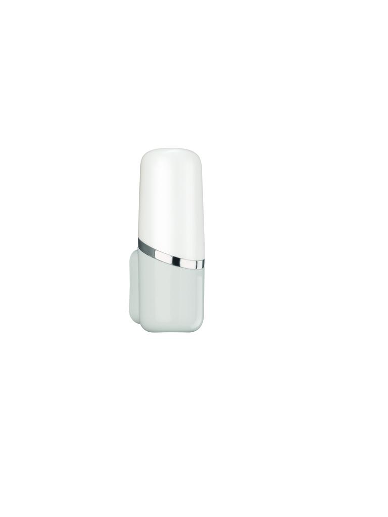 Philips Spiegelleuchte Swim, Weiß, Kunststoff, 341443116