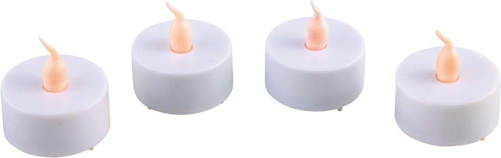 Heitronic LED Außen Dekoleuchte Candela, Weiß, ...