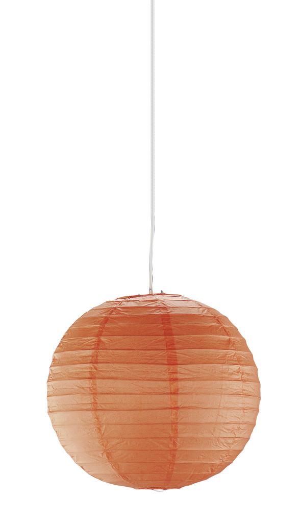 Trio Außen Dekoleuchte Nakato Uno, Orange, Papier, 3490400-18   Lampen > Dekolampen