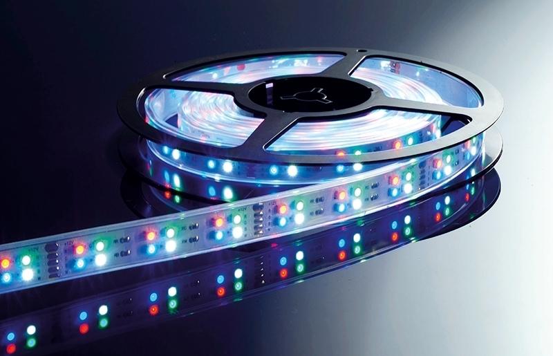 Deko-Light LED Strip Flexibler LED Stripe, Weiß...