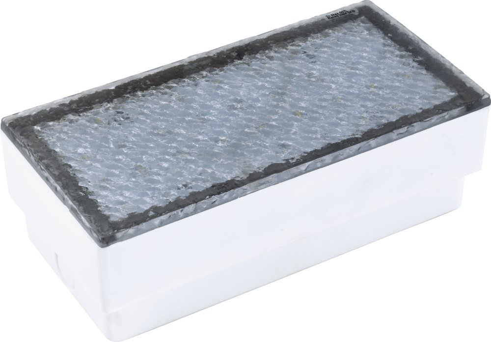 Heitronic LED Bodenleuchte Amanu, Transparent, Kunststoff, 35928