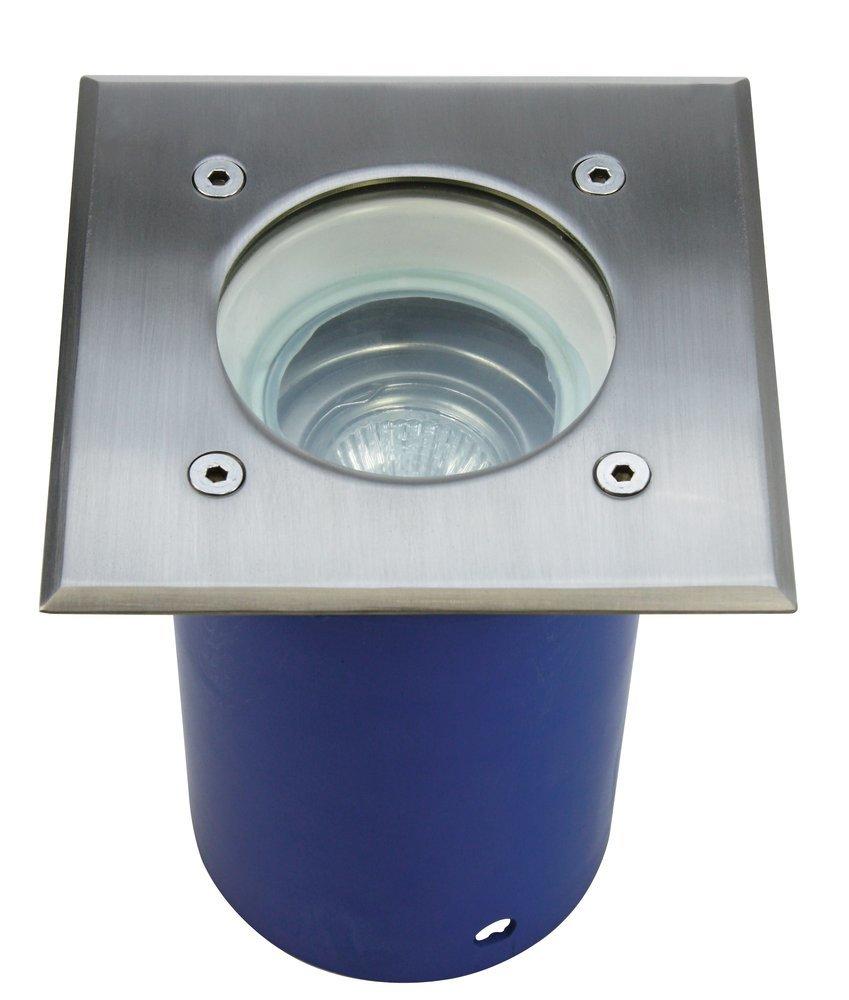 Heitronic Bodenleuchte Spandau, Metallisch, Aluminium/Edelstahl/Kunststoff, 36863