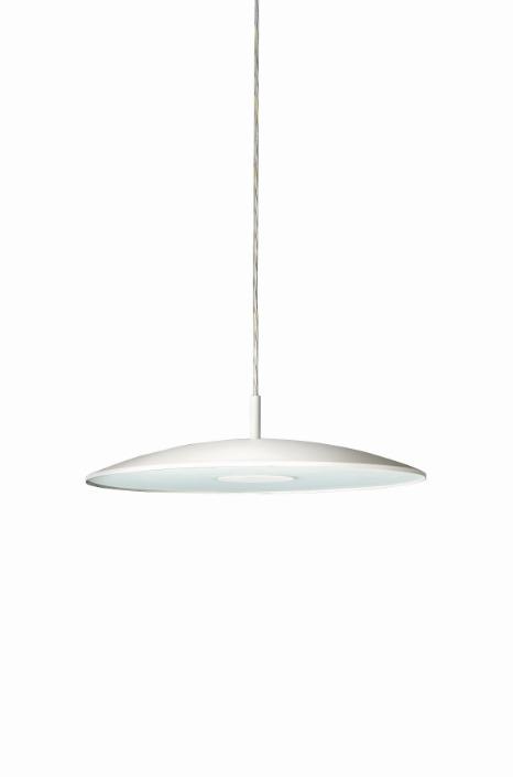 Philips Pendelleuchte Balance, Metallisch,weiß, Glas/Metall, 402353116