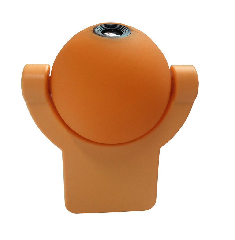 Niermann LED Kinderleuchte Nachtlicht - Stecker Sunny, Orange, Kunststoff, 80039