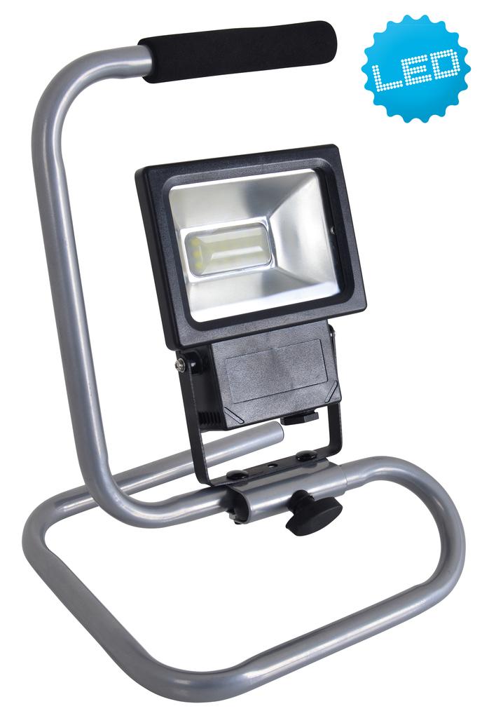 Näve LED Außenstrahler LED-Außenleuchte Strahler, Schwarz, 4082122