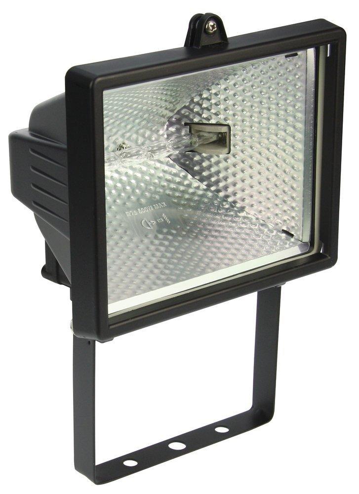 Heitronic Außenwandstrahler Saduni 2, Metallisch,schwarz, Aluminium/Glas, 44015