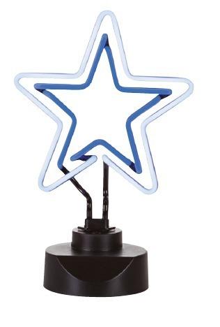 Sompex Leseleuchte Neono, Blau/schwarz, Kunststoff, 44120 | Lampen > Tischleuchten | Kunststoff