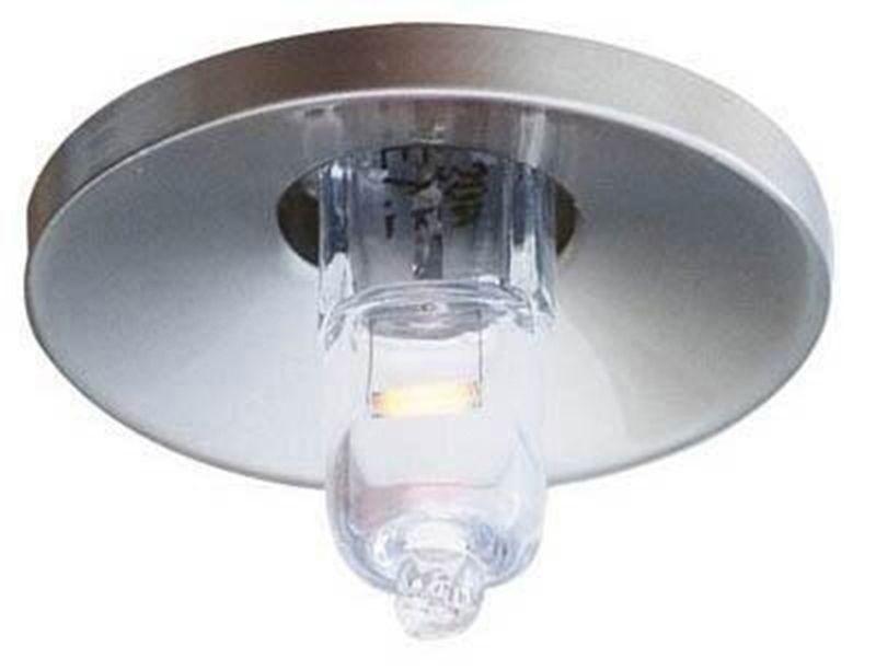 Deko-Light Einbauleuchte Deckeneinbauring, Silber, Aluminium, 448015