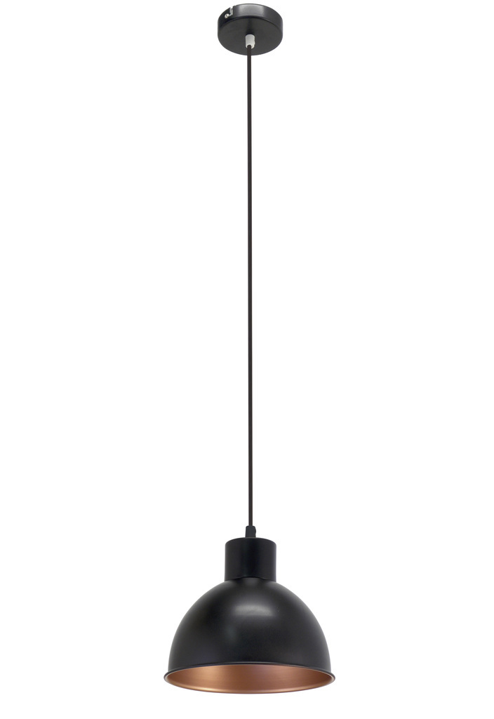 EGLO Pendelleuchte Truro 1, Schwarz, Metall, 49238