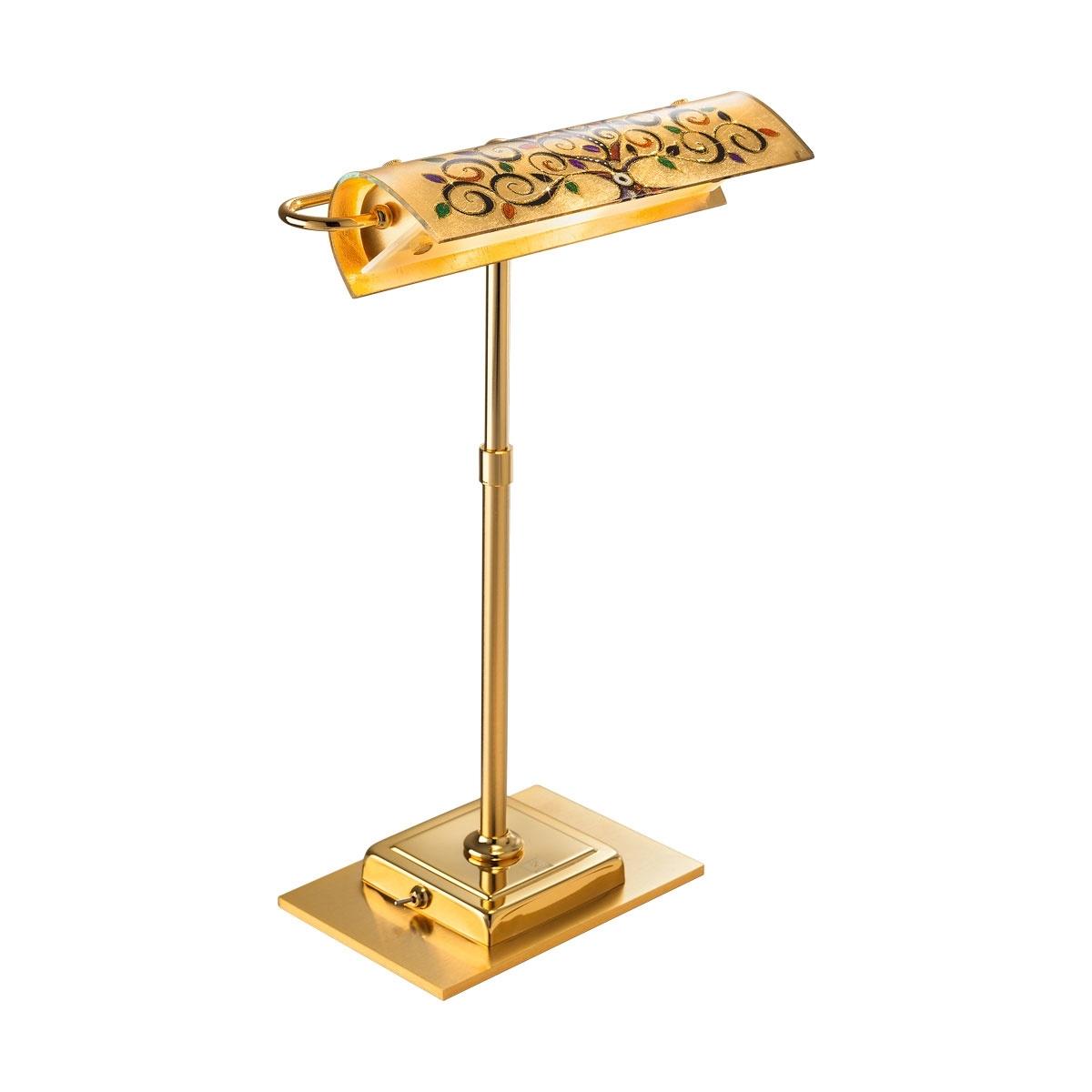 Kolarz LED Bankerleuchte Bankers TL, Bunt/gold,...
