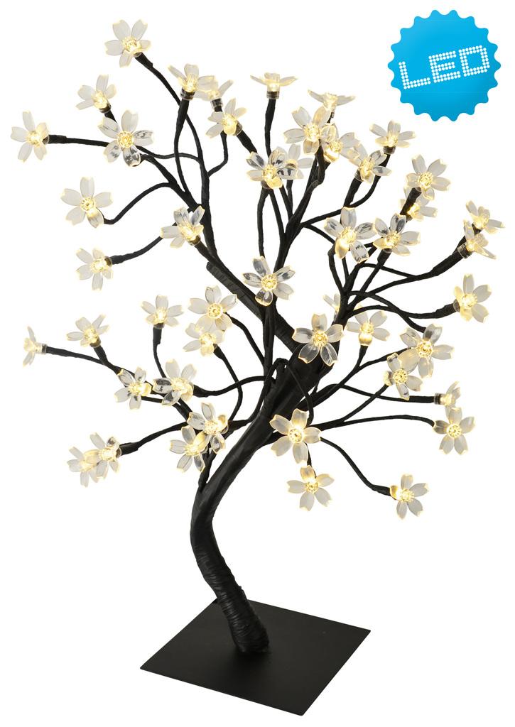 Näve LED Außen Dekoleuchte Deko-Baum, Schwarz/weiß, 5122326 | Lampen > Dekolampen
