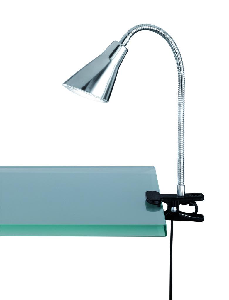 Trio LED Leseleuchte Kunststoff, Metallisch, Kunststoff, 528380107
