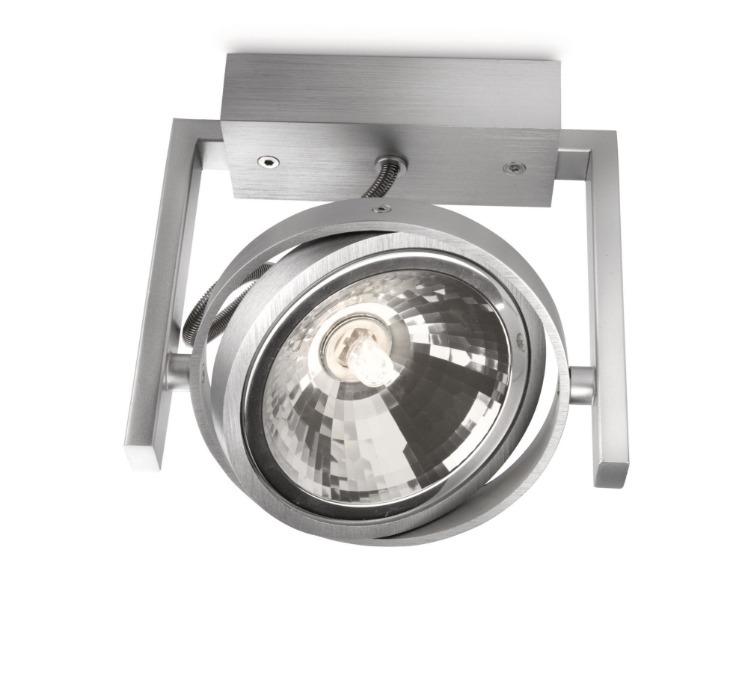 Philips Halogenstrahler Fast, Metallisch/silber, Metall, 530604816 | Lampen > Leuchtmittel > Halogenstrahler | Metall