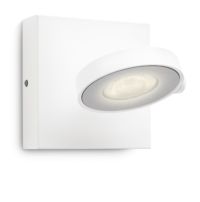 Philips LED Downlight Clockwork, Weiß, Metall, 531703116